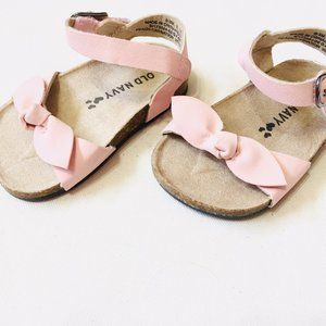 Old Navy Pink Bow Sandals